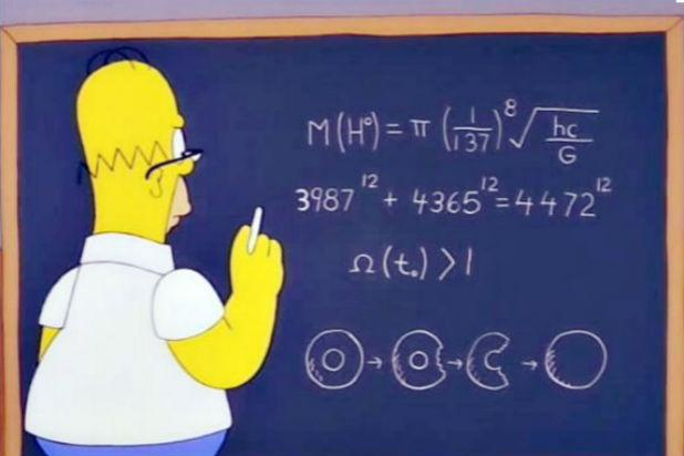 Homer Simpson Figured Out Higgs Boson Years Before Real Physicists