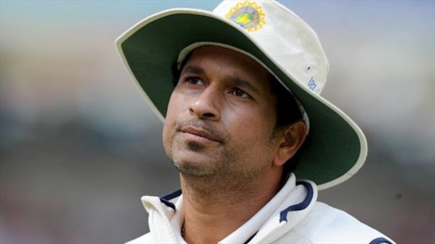 Sachin Tendulkar played his 200th and final test for India against West Indies (PA)