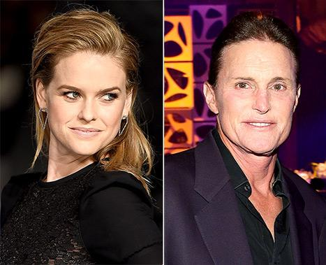"Alice Eve Sparks Backlash With Controversial Bruce Jenner Instagram: He's ""Playing at Being a Woman"""