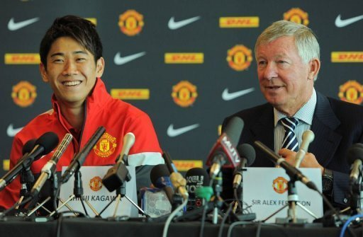 """I definitely feel the attention of the media globally now,"" Kagawa said"