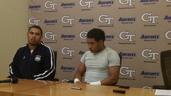 GT Spring Game Wrap: Thomas & Harrell