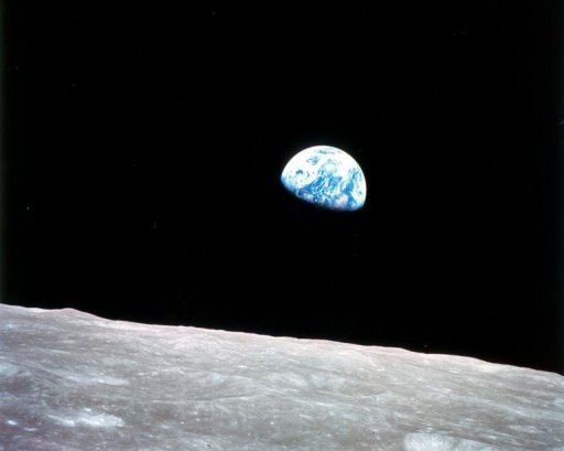 <p>This file image, released by NASA, shows the Earth rising over the moon, as seen on Christmas Eve, December 24, 1968 from Apollo 8, the first manned mission to the moon, as it entered lunar orbit. Two former top NASA officials have unveiled plans to sell manned flights to the moon by the end of the decade, in an announcement 40 years after the last human set foot there.</p>