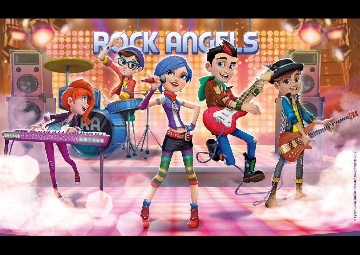 Scooter Braun & Cyber Group Partner On 'Rock Angels' Animated Musical Series – Mipcom