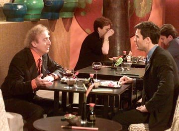Gene Wilder and Eric McCormack on NBC's Will and Grace