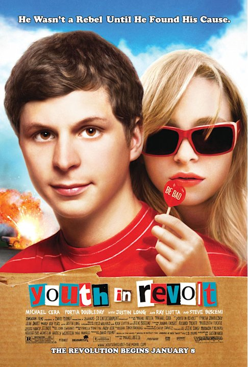 Youth in Revolt 2010 Production Photos Dimension Films Michael Cera Portia Doubleday