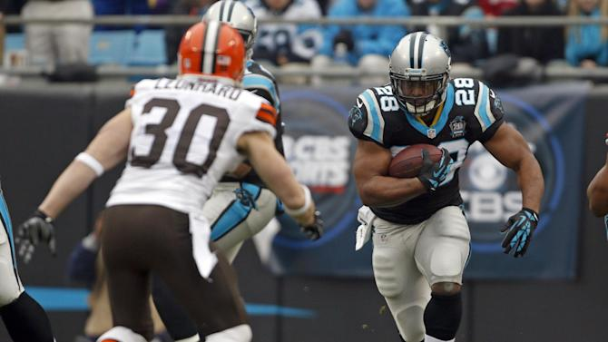 Panthers RB Williams probable vs. Falcons
