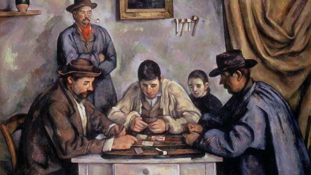 """The Card Players"" by Paul Cézanne, sold for $250 million in 2011."