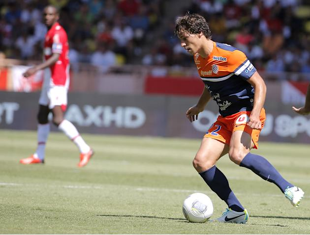 France Soccer League Monaco Montpellier Soccer