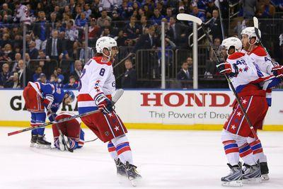 NHL Saturday: Rangers try to shut down Alex Ovechkin in Game 2
