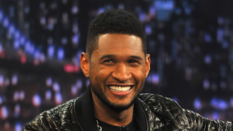 "Usher Visits ""Late Night With Jimmy Fallon"""