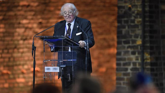 Polish born Holocaust survivor and President of the International Auschwitz Committee Roman Kent