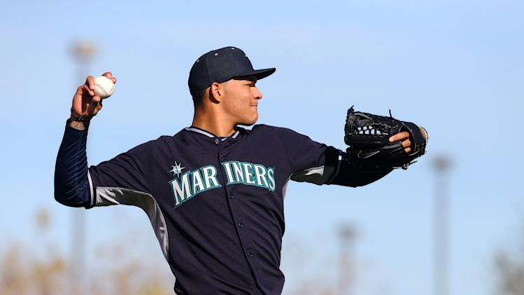 MLB: Seattle Mariners-Workout