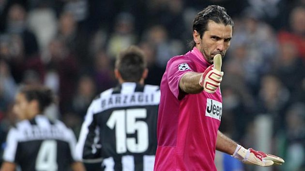 Gigi Buffon Juventus Chelsea 2012 AP/LaPresse