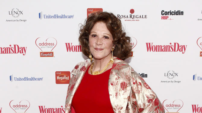 Actress Linda Lavin is seen at the Woman's Day Red Dress Awards on February 12, 2013, in New York City. (Brian Ach/AP Images for Campbell's)