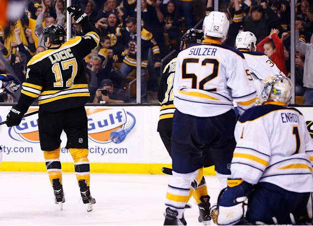 Buffalo Sabres v Boston Bruins