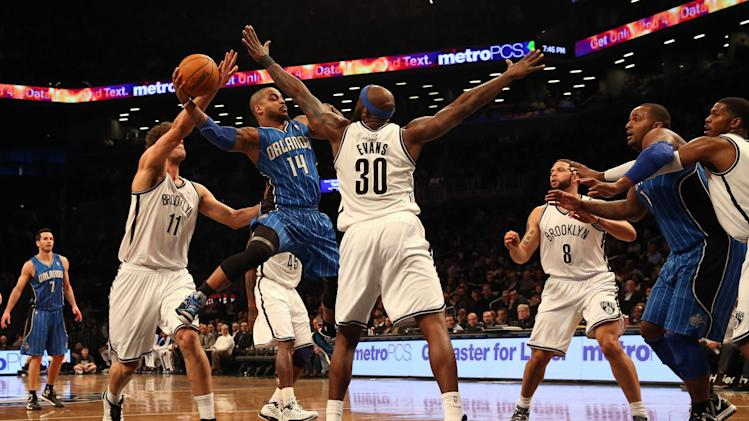 NBA: Orlando Magic at Brooklyn Nets