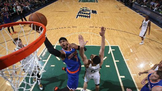 Knicks beat Jazz 92-83 to finish 3-2 road trip