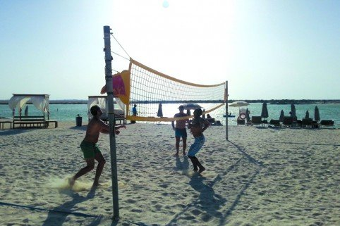Have fun in the sun at the Yas Volleyball Challenge