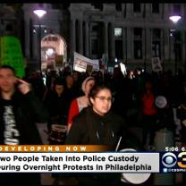 Peaceful Protest In Philadelphia Following Ferguson Grand Jury Decision