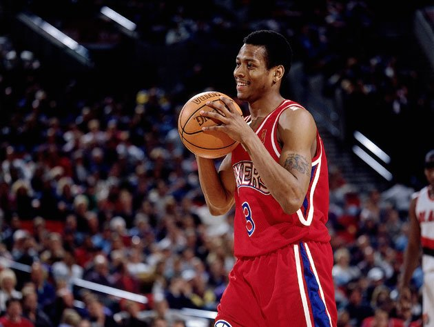 The 10-man rotation, starring Allen Iverson   Ball Don't Lie - Yahoo Sports