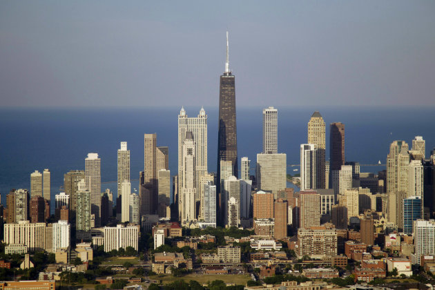 This Friday, June 15, 2012, file photo, shows the Chicago skyline. (AP Photo/Carolyn Kaster)