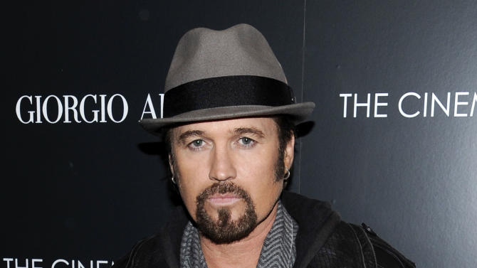 """FILE - This Dec. 13, 2011 file photo shows singer Billy Ray Cyrus attending a special screening of """"Albert Nobbs"""" at the Museum of Modern Art in New York. Cyrus is making his Broadway debut in """"Chicago.""""  The singer of """"Achy Breaky Heart"""" and father of Miley Cyrus is detouring from his Nashville roots in taking on the role of criminal lawyer Billy Flynn for a seven-week engagement beginning Nov. 5.  (AP Photo/Evan Agostini, file)"""