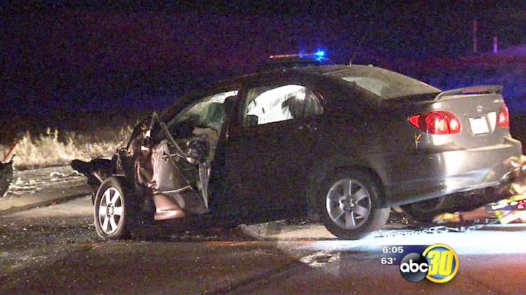 Woman killed in suspected DUI crash on Friant Road