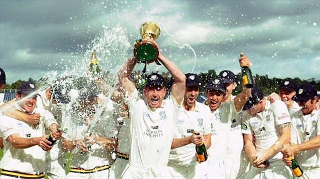 Durham have won the county championship three times in the last six years.