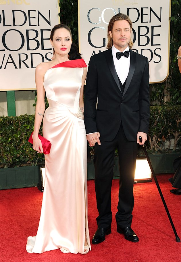 Angelina Jolie and Brad P …