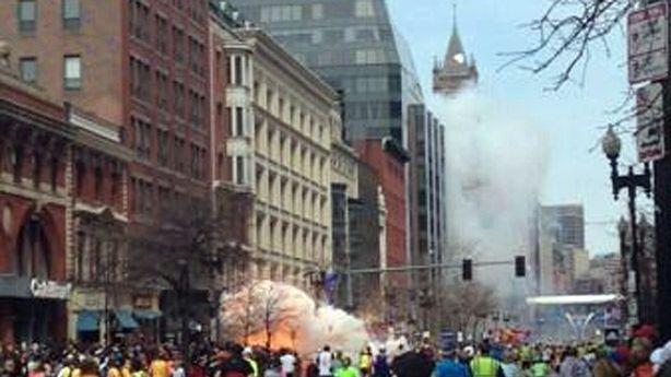 Explosion at Boston Marathon Finish