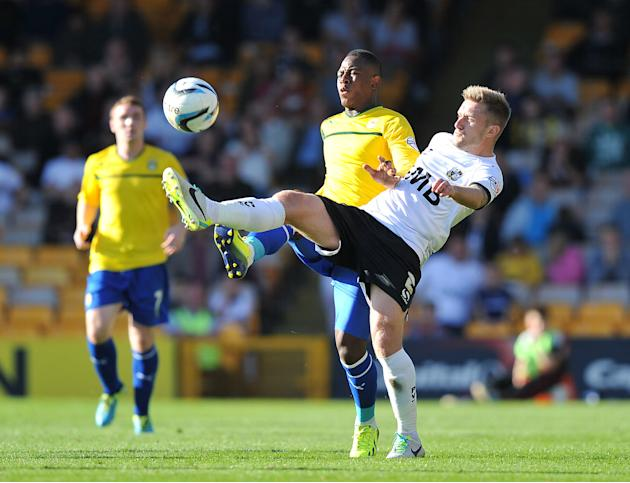 Soccer - Sky Bet League One - Port Vale v Coventry City - Vale Park