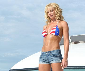 Jaime Pressly in The Weinstein Company's DOA: Dead or Alive