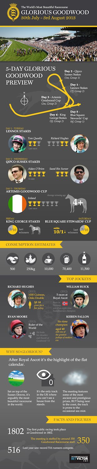 Glorious Goodwood 2013 [Infographic] image Goodwood