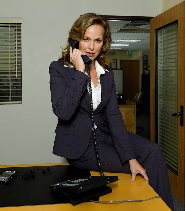Melora Hardin stars as Jan Levinson on NBC's The Office.