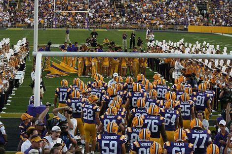 College Football 2012: 25 Great LSU Touchdowns