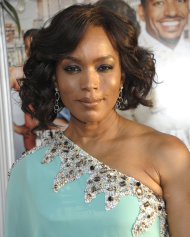 "FILE - In this May 4, 2011 file photo, actress Angela Bassett arrives at the premiere of the feature film ""Jumping The Broom"" in Los Angeles. Bassett is turning heads on Broadway playing Camae, a mysterious motel maid who delivers coffee to civil rights leader Martin Luther King Jr. in Katori Hall's play ""The Mountaintop."" (AP Photo/Dan Steinberg, file)"