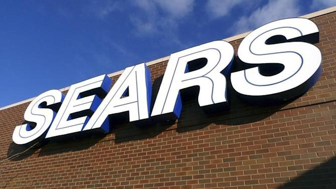 A sign for the Sears department store is seen at Fair Oaks Mall in Fairfax
