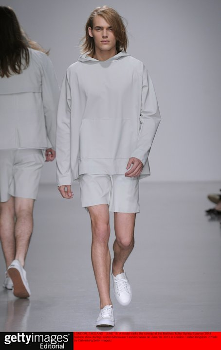 Matthew Miller - Mens Spring 2014 Runway - London Menswear Fashion Week