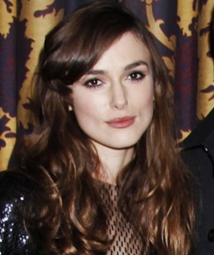 Keira Knightley Celebrity Bangs