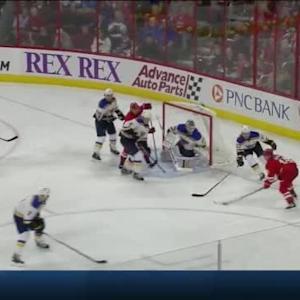 Jake Allen Save on Nathan Gerbe (08:19/2nd)