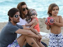 Kardashian Clan's Beach Day