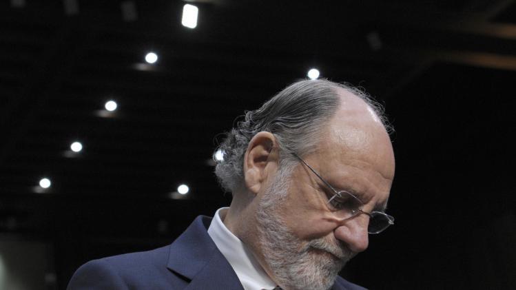 MF Global's trustee sues former CEO Corzine