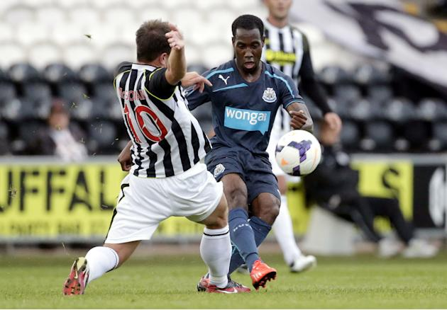 Soccer - Pre-Season Friendly - St Mirren v Newcastle United - St Mirren Park