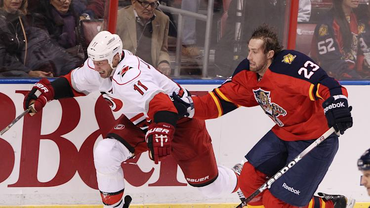 NHL: Carolina Hurricanes at Florida Panthers