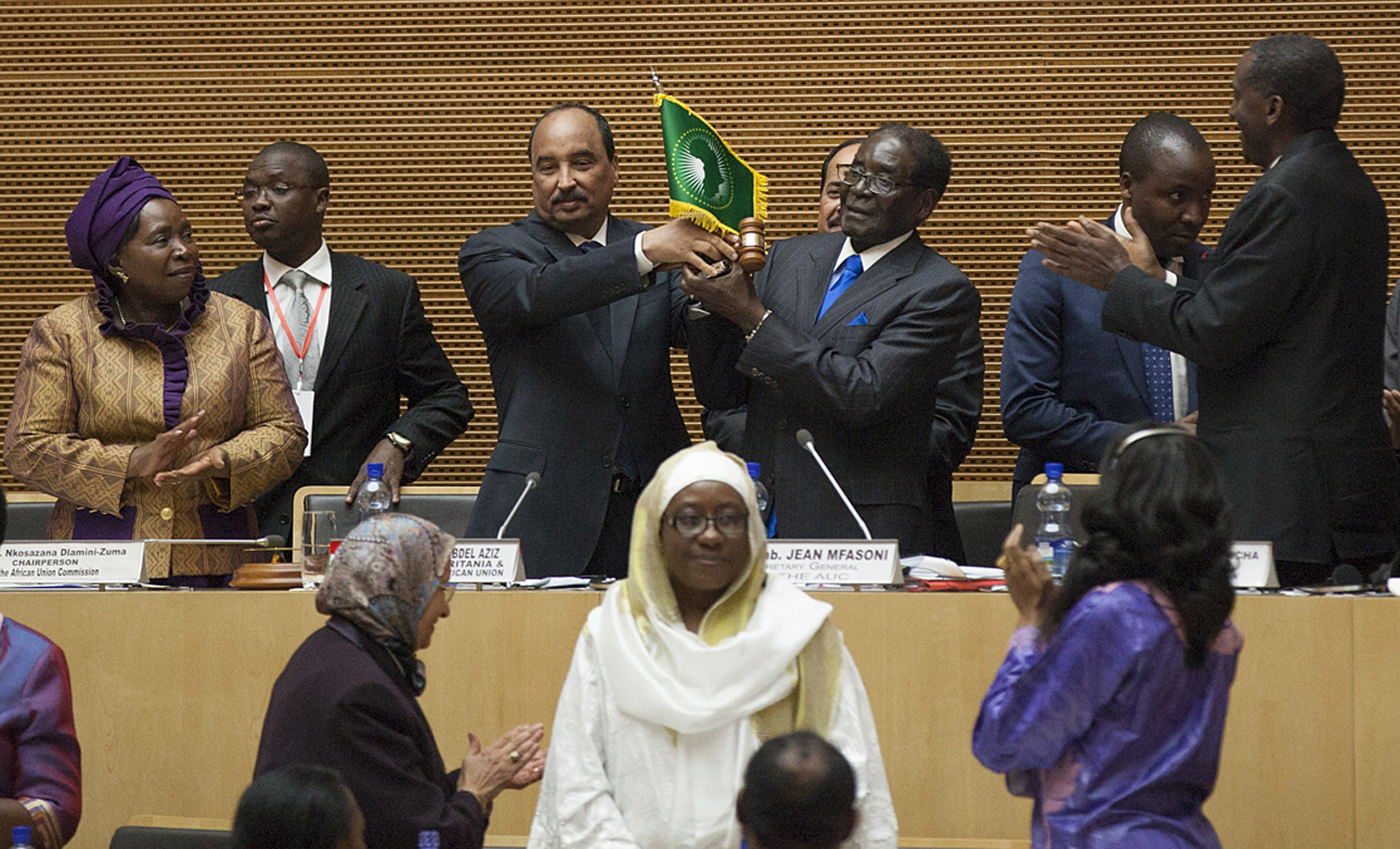 Mugabe shrugs off concerns over African Union-West relations