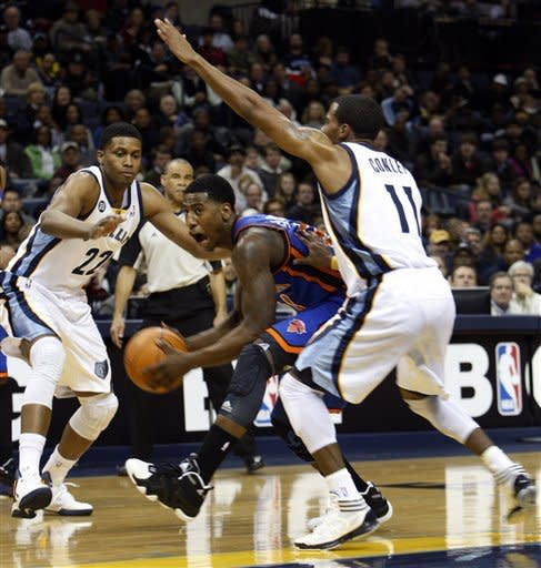 Rudy Gay helps Grizzlies beat Knicks