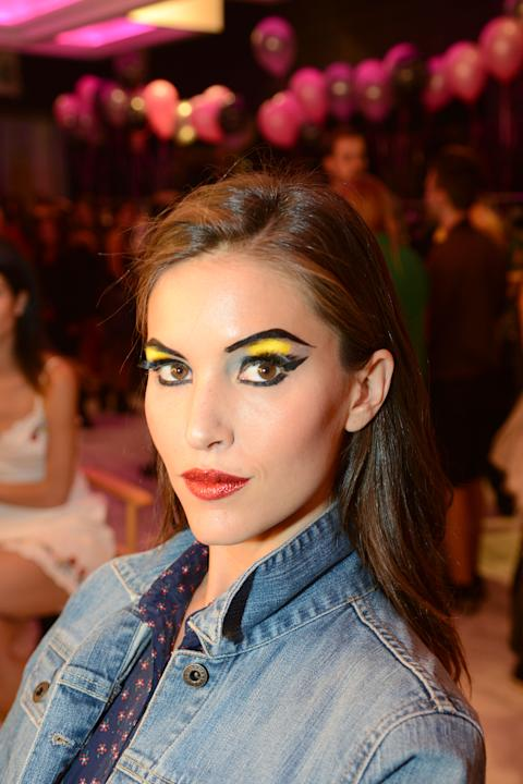 Backstage at Betsey Johnson's Spring 2013 Show