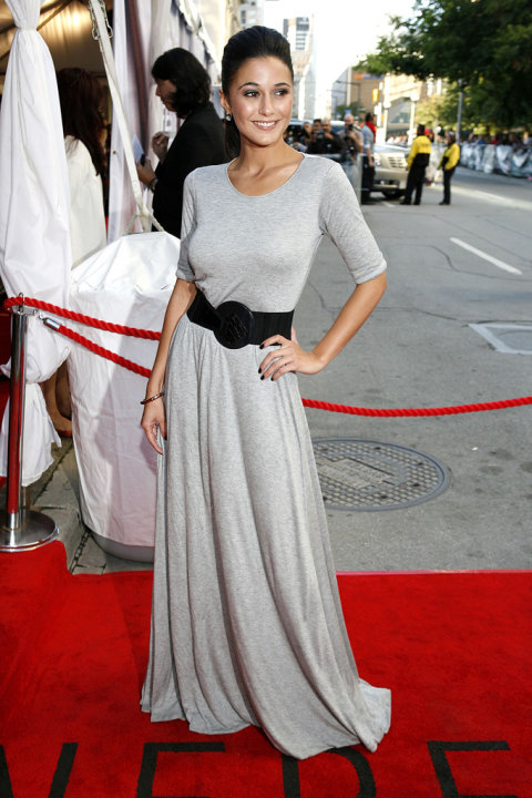 Toronto Film Festival Premiere 2008 Emmanuelle Chriqui The Lucky Ones