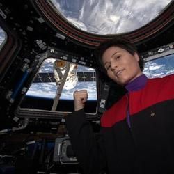 Astronaut Posts Awesome 'Star Trek' Selfie From Space