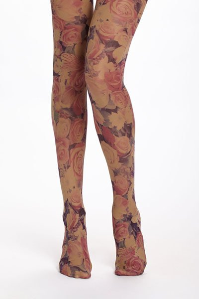 Opaque photoflora tights, $20, anthropologie.com